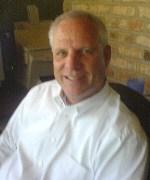 Harvey Vickery in home office